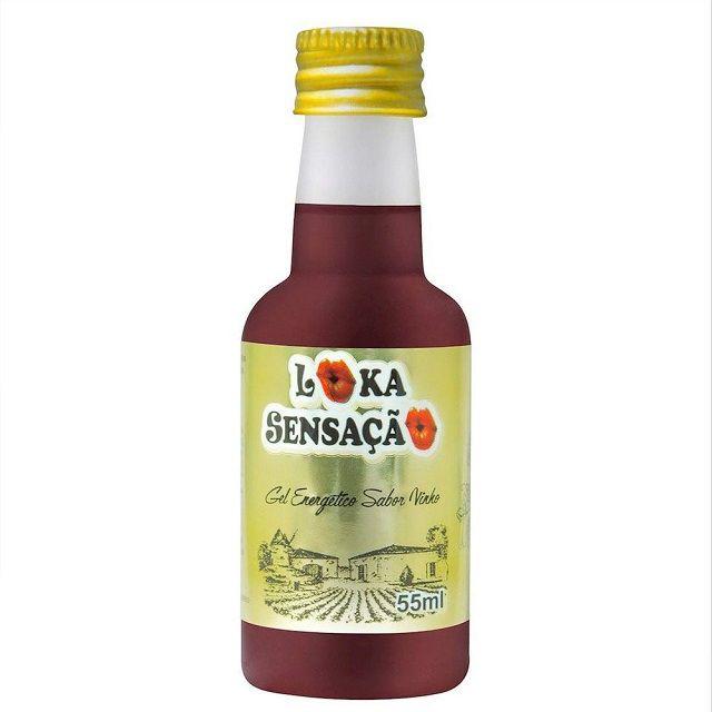 Gel Comestível Vinho 55ml Loka Sensação