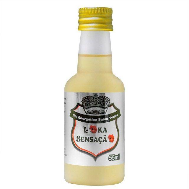 Gel Comestível Vodka 55ml Loka Sensação