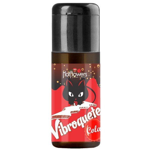 Vibroquete Gel Vibrante Sabor Cola 12gr Hot Flowers