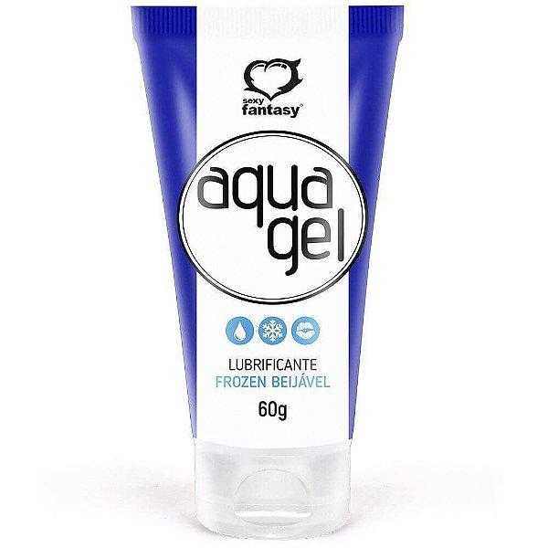 Aqua Gel Lubrificante Beijável Ice Frozen 60g sexy Fantasy