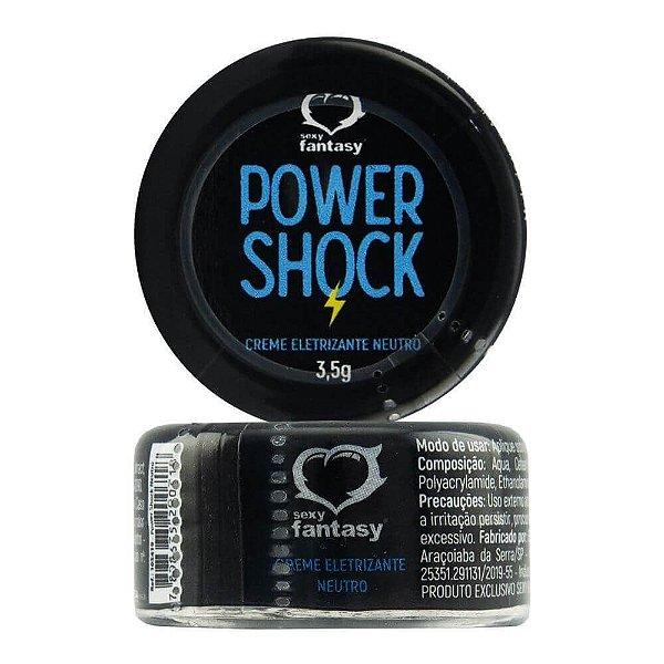 Power Shock Pomada Eletrizante 3,5gr Sexy Fantasy