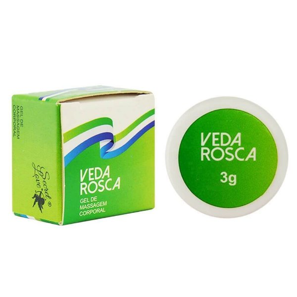 Pomada Veda Rosca 3g Secret Love
