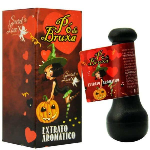 Pó De Bruxa Extrato Aromático 2g Secret Love
