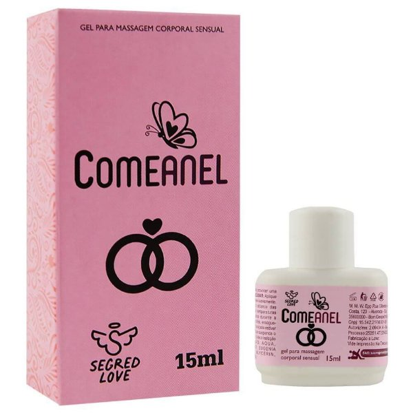 Comeanel Facilitador Anal 15ml Segred Love
