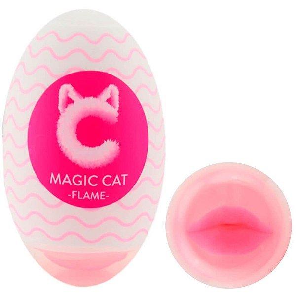 Egg Flame Cyberskin Magic Cat