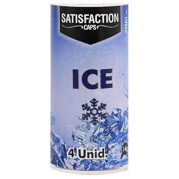 Bolinha Ice Esfria 4 Unidades Satisfaction
