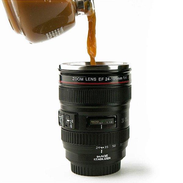 Caneca Lente de Câmera Canian Zoom Lens EF