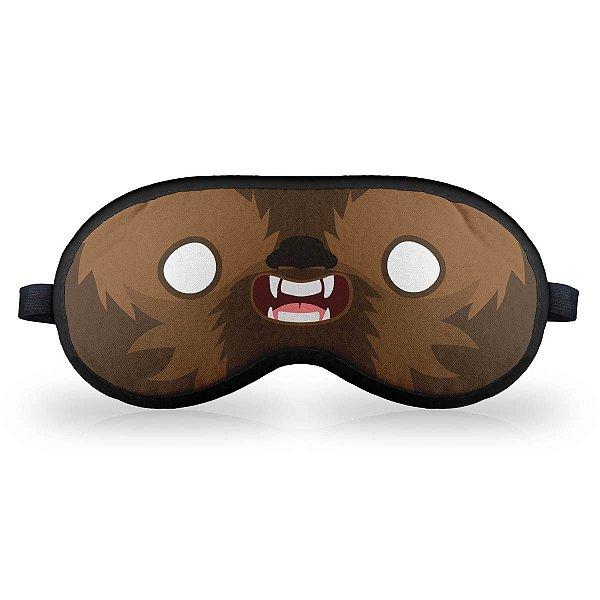 Máscara de Dormir em Neoprene Geek Side Faces - Chill Bacca