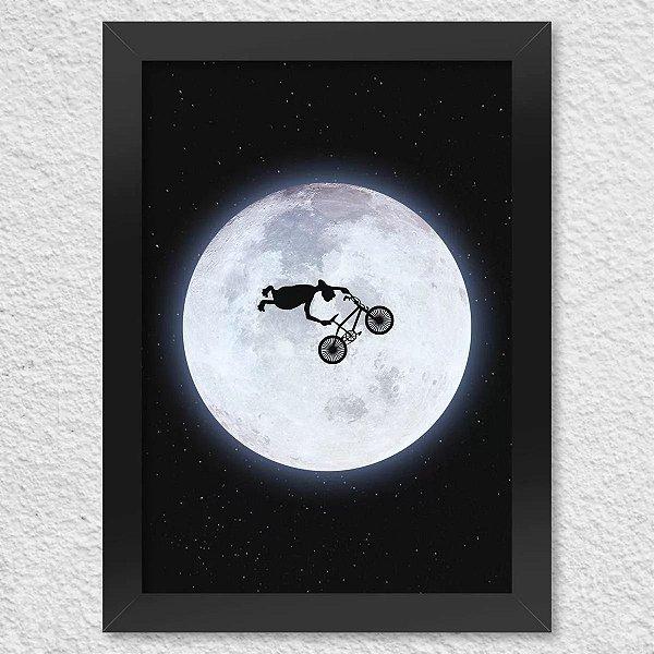 Poster com Moldura - ET BMX Radical