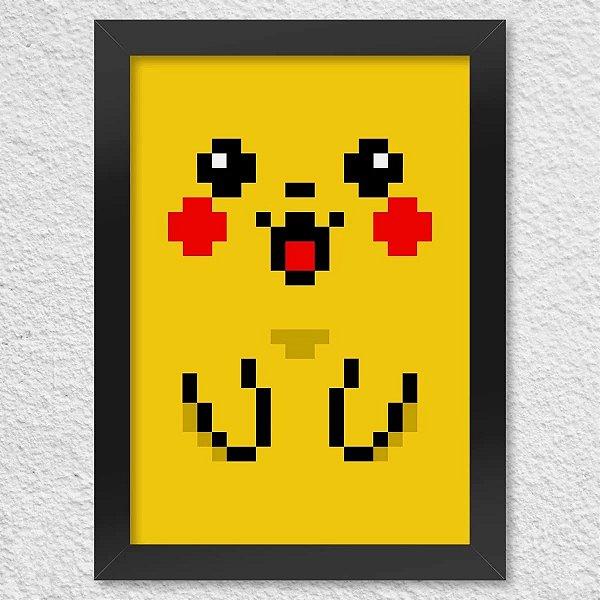Poster com Moldura - Pixelchu