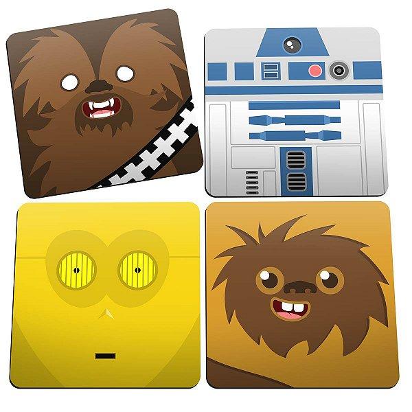Porta Copos Geek Side Faces
