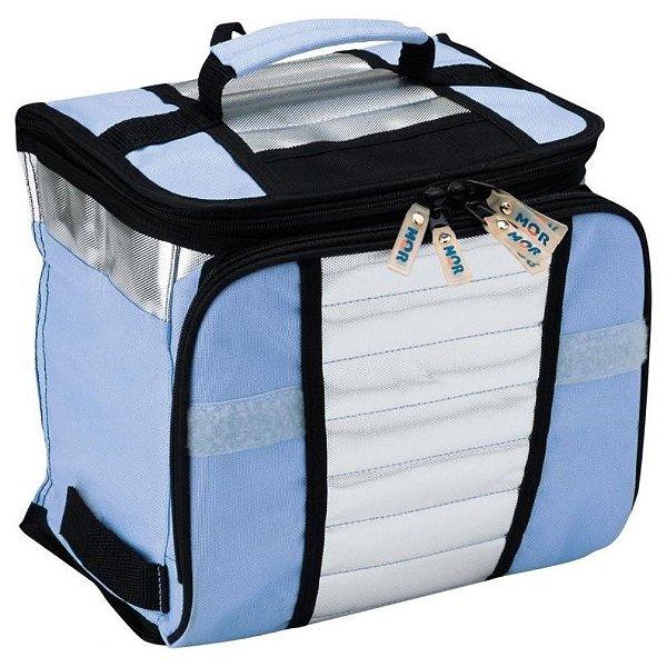 Bolsa Térmica Ice Cooler 7,5 Litros Azul ou Rosa Mor