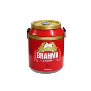 Cooler Térmico 12 Latas Brahma e Alça Nylon Bebida Gelada Refrigerante Festa