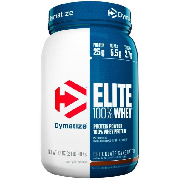 Elite Whey Protein 2lbs (907g) - Dymatize