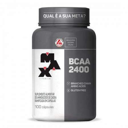 BCAA 2400 - 100 Caps - Max Titanium