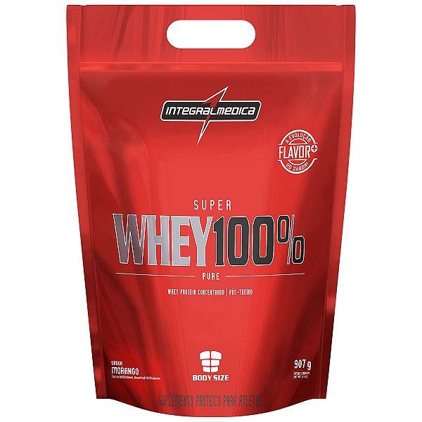 Super Whey 100% Pure - 907g - Refil - Integralmédica