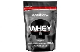 100% Whey Protein Refil (837g) - Black Skull
