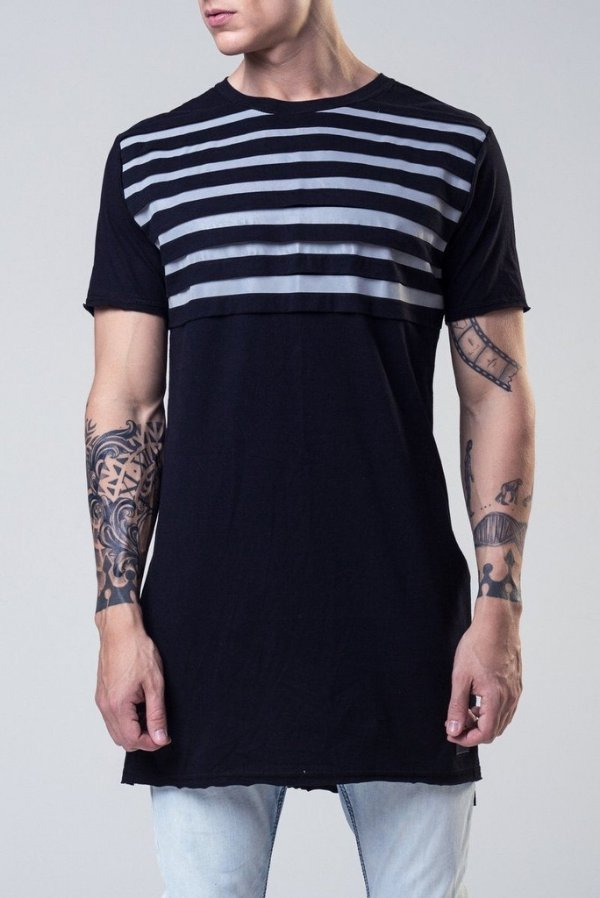 Camiseta Seven Lights Black - P - Lamafia