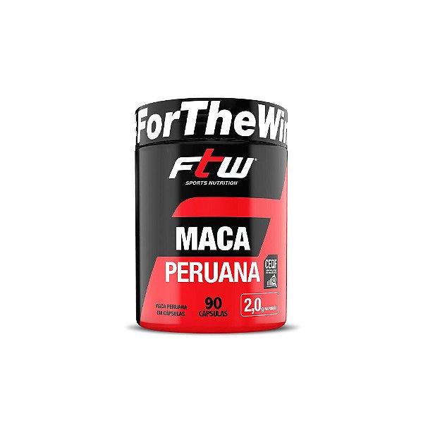 Maca Peruana 90 Cáps - FTW