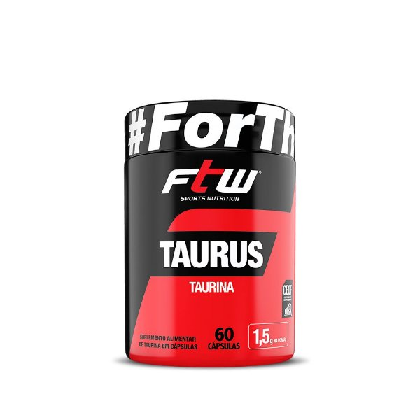 Taurus Taurina - 60 Cápsulas - FTW