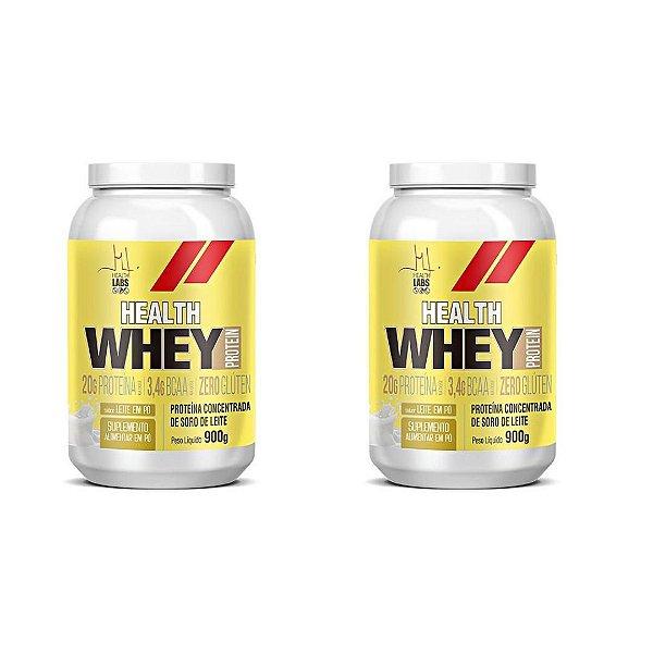 Kit 2x Health Whey Protein 900g - Health Labs