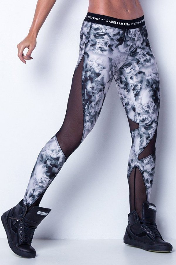 Calça Legging Shadow Skull – Labellamafia