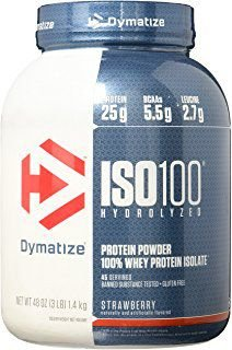 ISO 100 Whey Protein (3 lbs) - Dymatize