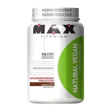 Natural Vegan - 500g - Max Titanium