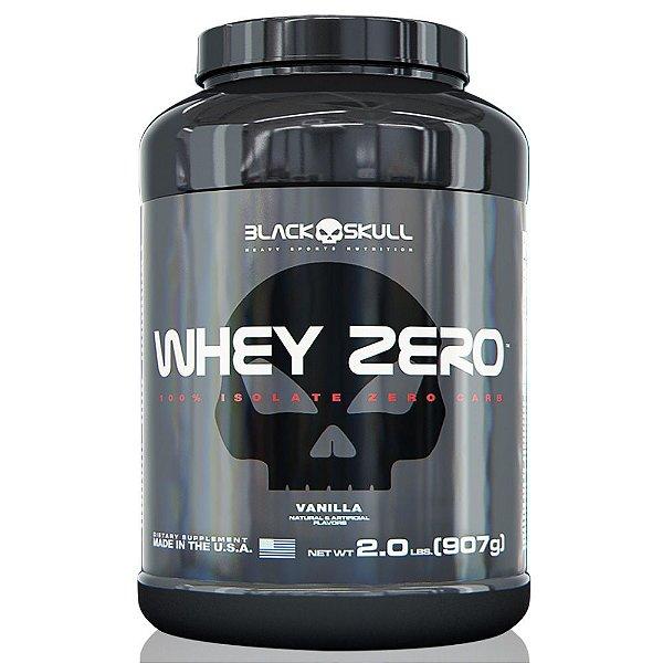 Whey Zero - 907g (2lbs) - Black Skull