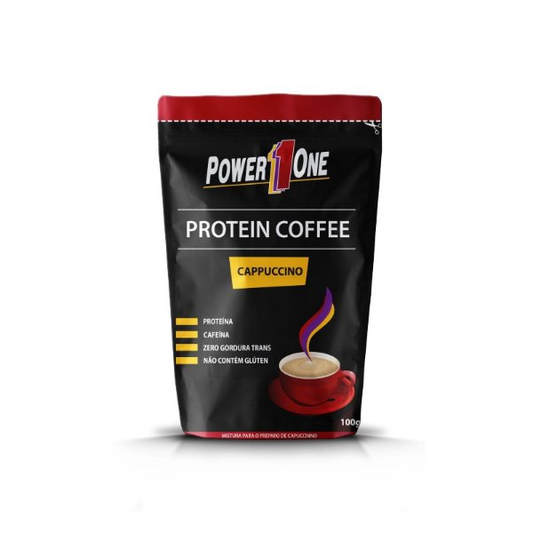 Protein Coffee Cappuccino - 100g - Power One