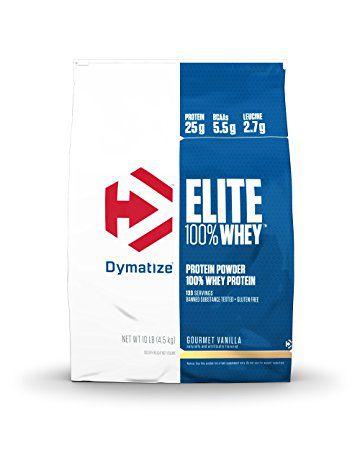 Elite Whey Protein 10lbs (4540g) - Dymatize