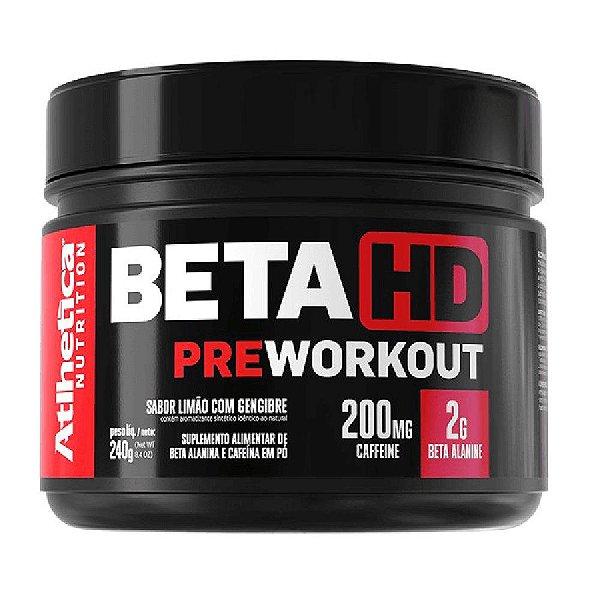 Beta Hd Pre Workout (240g) - Atlhetica Nutrition