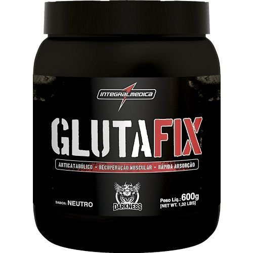 Gluta Fix Darkness - Glutamina - 600g - Integralmédica