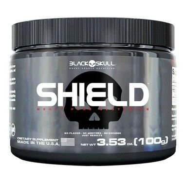 Shield Pure Glutamine (100g) - Black Skull