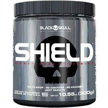Shield Pure Glutamine (300g) - Black Skull