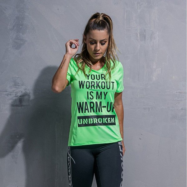 Blusa Workout Green - Labellamafia