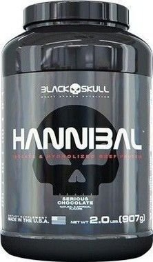 Hannibal 907 G - Black Skull