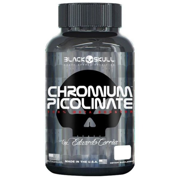Chromium Picolinate - 200 Tablets - Black Skullr