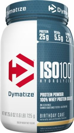 ISO 100 Whey Protein (1,6lbs) - Dymatize Nutrition