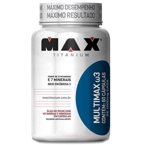 Multimax Omega 3 - 60 Cápsulas - Max Titanium