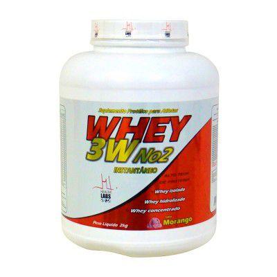 Whey 3W No2 2kg - Health Labs