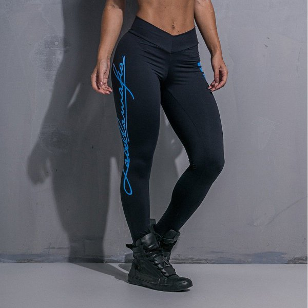 Calça Legging Cross Trainning Blue - Labellamafia