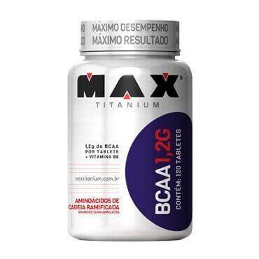 BCAA 1,2 G 120 Tabs - Max Titanium