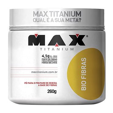 Bio Fibras - 260g - Max Titanium
