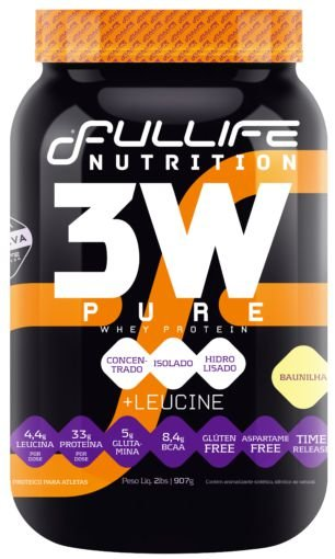 Whey Protein 3w 907g - Fullife Nutrition