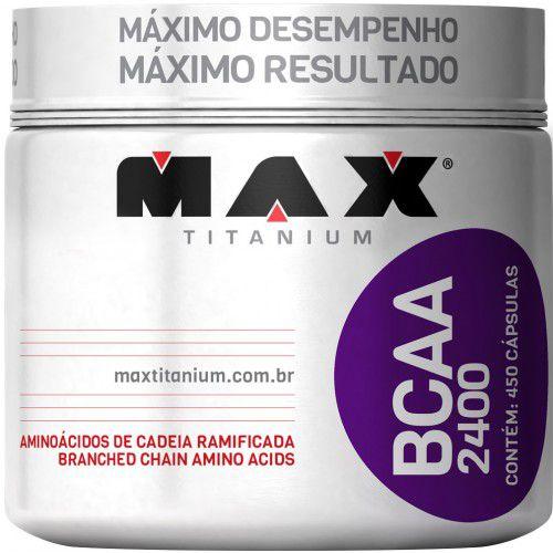BCAA 2400 - 450 Caps - Max Titanium