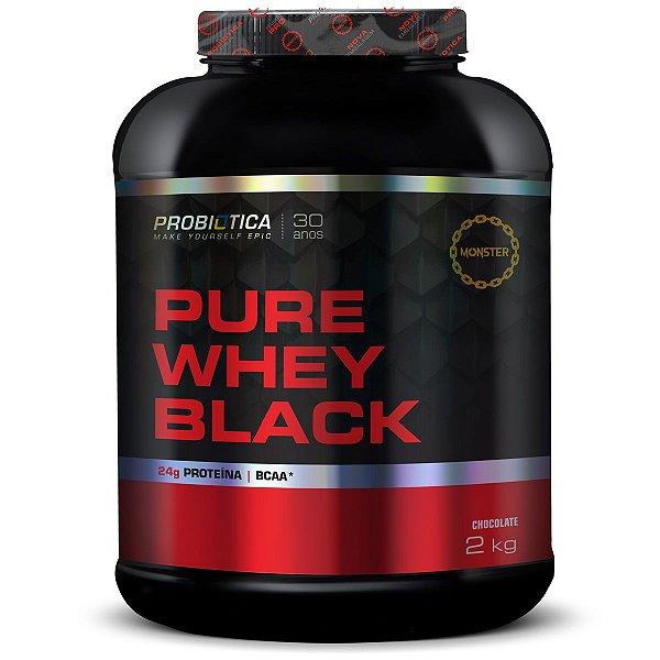 Pure Whey Black - 2 kg - Probiótica