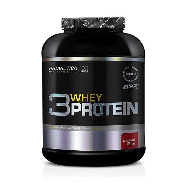 3 Whey Protein (2kg) - Probiótica