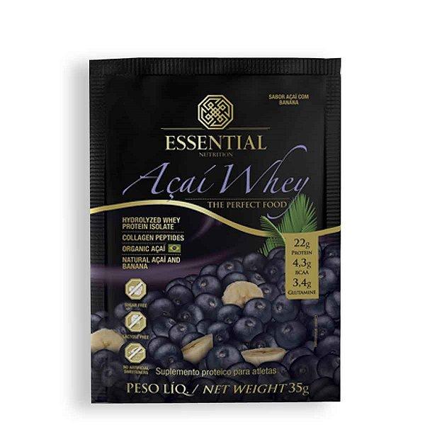 Açaí Whey Sachê 35G - Essential Nutrition