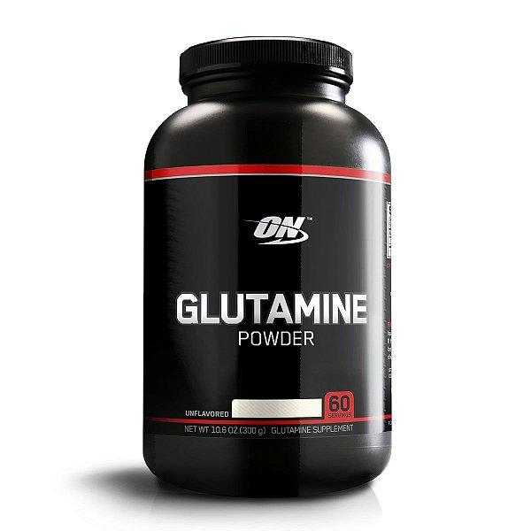 Glutamina Powder - 300g - Black Line - Optimum Nutrition
